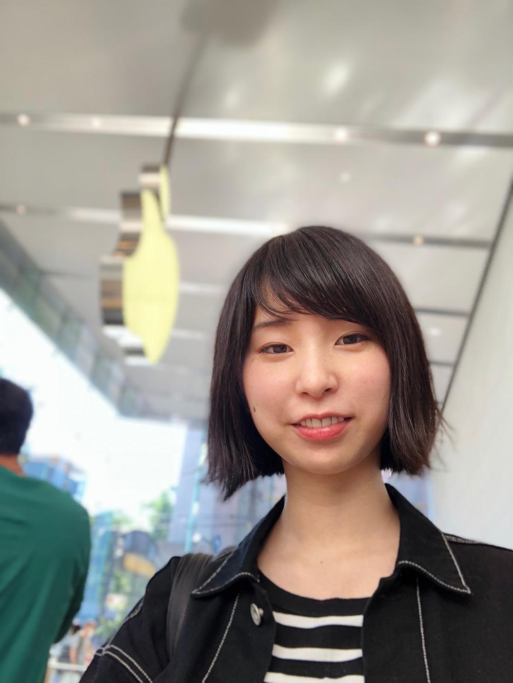 iPhoneXインカメラ写真